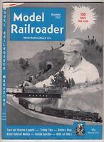 Model Railroader Train magazine Nov 1952 Great Railroad Model Tuxedo Junction