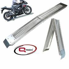 More details for bike loading ramp folding motorcycle motorbike atv steel motocross folding