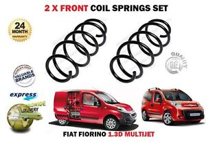 FOR FIAT FIORINO 1.3D MULTIJET 225 2007-2017 NEW 2 x FRONT COIL SPRINGS SET