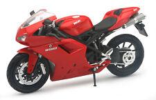 Ducati 1198 Rojo Escala 1:12 Modelo de Motocicleta de Newray