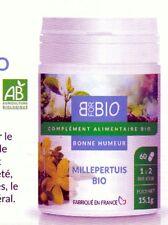 Millepertuis Bio - 60 Gélules Bonne humeur anti dépresseur naturel