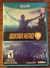 Guitar Hero Live Video Game (Nintendo Wii U, 2015)