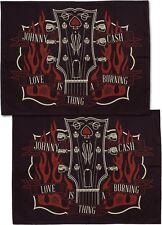 Tattoo Sourpuss Johnny Cash Pillow Cases Punk Rockabilly Guitar Country Music
