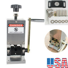 USA SHIP! Wire Stripping Machine Copper Cable Peeling Stripper w/Drill Connector