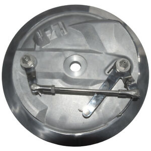 """TRIUMPH/BSA 8"""" TWIN LEADER BRAKEPLATE ASSEMBLY TLS 37-3461A stainless linkages"""