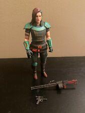 "Star Wars - Black Series - Mandalorian 6"" CARA DUNE figure Credit Collection toy"