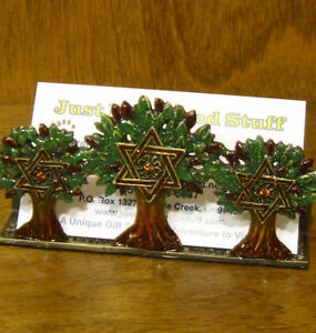 Pewter Business Card Holder #H267 TREE of LIFE, NIB  Welforth, From Retail Store