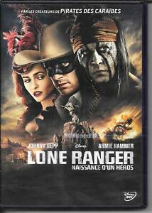 DVD ZONE 2--WALT DISNEY--LONE RANGER--DEPP/HAMMER/VERBINSKI