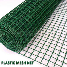 More details for 5m x 50cm plastic sqaure mesh garden fencing plant barrier safety border netting