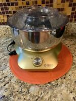 Cook's Companion 600W 5 qt Open Top Multi Functional Standless Mixer Storage LiD