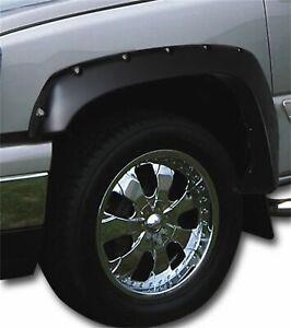 Stampede Ruff Riderz Fender Flare Black 4-Piece for Chevy Silverado GMC Sierra