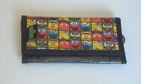 Sesame Street Trifold Wallet for Checkbook