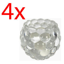 Set of 4 Crystal Tea Light Candle Holder 8cm Home Decoration Table Ornament