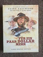 For a Few Dollars More (Sergio Leone, 1965), Oop R2 uncut German Dvd Western