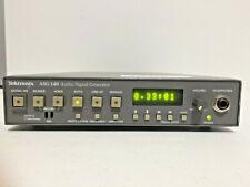 Tektronix Asg140 Audio Signal Generator 4 Channel