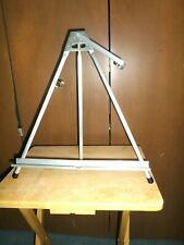 """Vintage Stanrite Fold-able Aluminum Table Easel 18""""W X 17""""H- Display/Painting"""