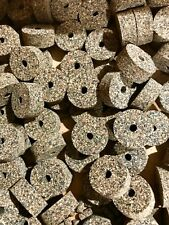 Cork Rings, 4 Mixed Grain Rubberized, 1 1/4� x 1/2� x 1/4� Hole, Great Quality!