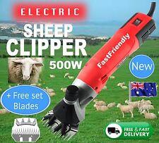 6 Speed 500-Watt Electric Shearing Supplies Clipper Shear Sheep Goats Farm Shears B