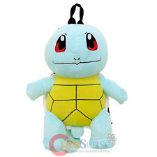 Pokemon Squirtle Turtle Plush Doll Backpack 16in Costume Bag
