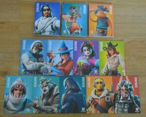 Panini Fortnite Serie 1 Trading Cards Rare, Epic & Legendary Karten aussuchen