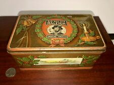 Scarce Sir Walter Raleigh Christmas Tobacco Tin Holly & Bells CLEAN