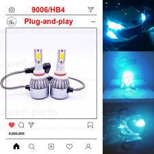 2020 NEW 9006 HB4 LED Headlights Bulbs Kit Lamp Light 65W 6000LM 8000K Blue