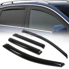 FOR 06-08 HONDA FIT GD3 SMOKE TINT WINDOW VISOR SHADE/VENT WIND/RAIN DEFLECTOR