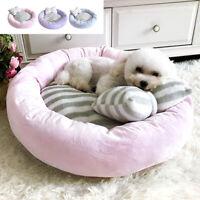 Calming Dog Bed for Small Medium Dogs Cot Winter Warm Pet Cushion Mattress Mat