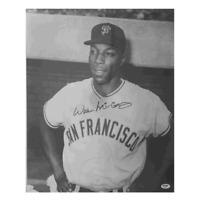 Willie McCovey Autographed Vintage Giants 16 x 20 Baseball Photograph (PSA) Auth