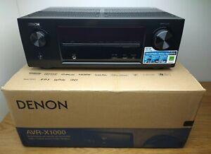 Denon AVR-X1000 5.1 Surround AV-Receiver Internet-Radio, HDMI, AirPlay