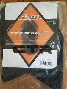 Chaos Hats CTR Tempest Multi Tasker Pro Balaclava Face Mask - Large L/XL - Black