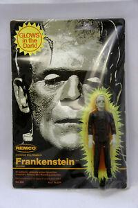 REMCO 1980 Frankenstein Glow in Dark Universal Monsters Figure New on Card