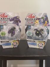 Bakugan Armored Alliance Tretorous Ultra And Sabra x Pyravian Ultra Spinmaster