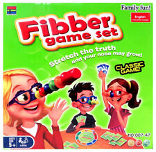 Fibber Board Game Set - Family Fun Liar Game For Ages 5+