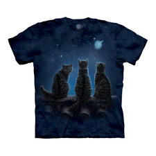 The Mountain Wish Upon A Star Cats Adult Unisex T-Shirt
