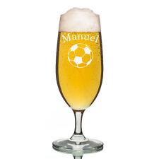 Leonardo VERRE PILS Verre à bière incl. GRAVURE Football