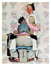 Poster Kunstdruck von Norman Rockwell Plakat Foto Motiv Bild The Tattoist - neu