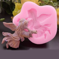 Angel Girl 3D Silicone Mould Fondant Mold DIY Cake Molds Baking Decorating Tool