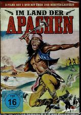 Im Land der Apachen (DVD) 3 Filme - NEU & OVP