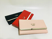 New With Box Largo SLG Trifold Clutch Wallet 3 Colors Purse NWT PE632151
