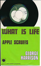 "GEORGE HARRISON 45 TOURS 7"" BELGIUM WHAT IS LIFE"