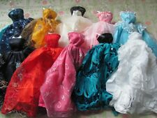 barbie doll clothes dresses accessories 5 dresses 5 outfits 5 small dresses2