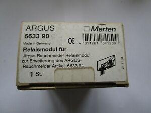 Merten Argus Relaismodul 663390 für Argus Rauchmelder z. Erweiterung 663394 (K65