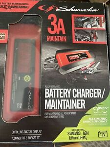 Schumacher SP1297 3A 6V/12V Automatic Battery Charger / Maintainer - New