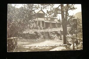 VTG RPPC HALLS COTTAGE ON THE ST. VRAIN RIVER IN COLORADO, PHOTO ~ HALL RANCH ?