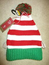 'TU' SUPER CUTE CHRISTMAS ELF HAT, KNITTED,AGE 6-9YRS,BNWT !