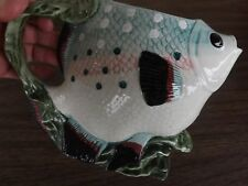 Realistic Shaped & Colorful FISH VASE (with handle, or mug)