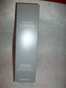 MARY KAY TIMEWISE AGE MINIMIZE 3D~4-IN-1 CLEANSER~NORMAL TO DRY-NIB-Ships FREE