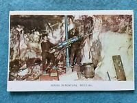Mining and Drilling in Montana Vintage Postcard