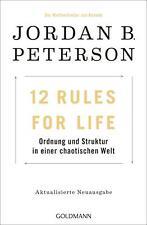 12 Rules For Life | Jordan B. Peterson | Taschenbuch | Deutsch | 2019